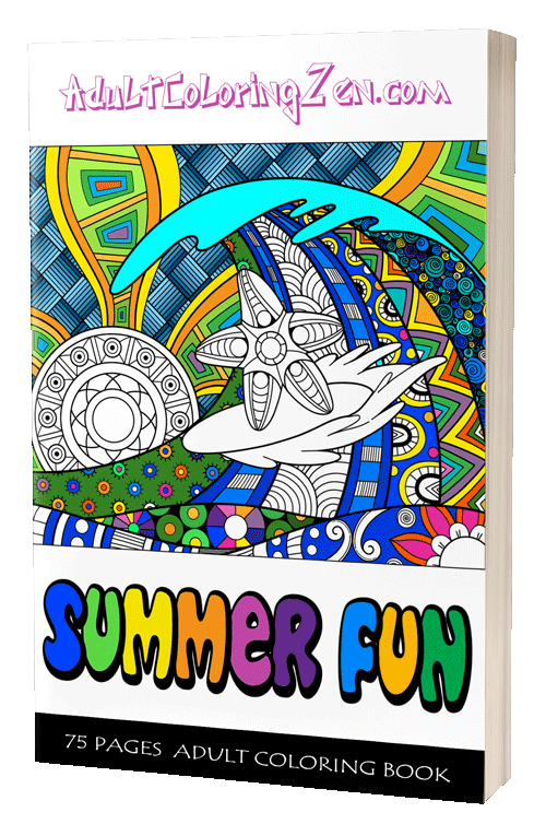 Summer Fun coloring book